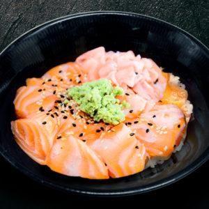 chirashi-saumon-restaurant-japonais-saint-brieuc-commander-sur-place-a-emporter